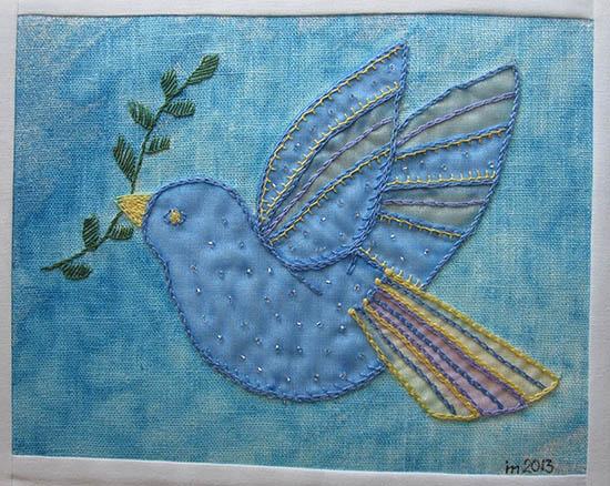 Fredsduva av Ingrid Malmberg