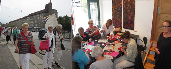 World Embroidery Day in Denmark, 2013. Foto: Britt Lilja