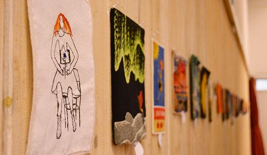 Guldnålen-utställning 2013