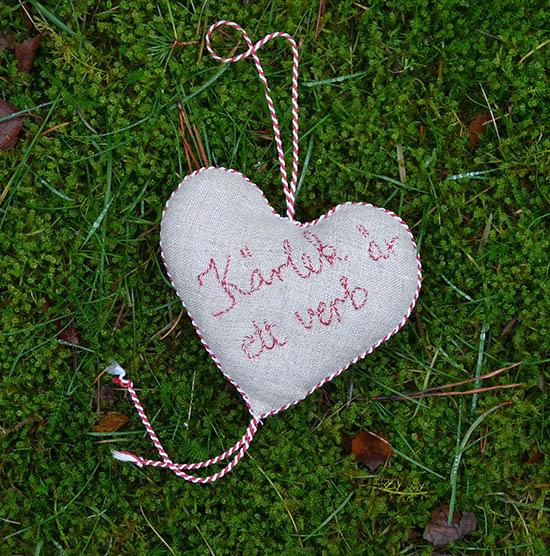 Hjärta av Gunilla Hildén