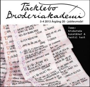 Broderiakademins medlemstidning 3-4 2013