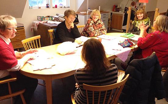 Styrelsen i Appladalen, Värnamo, 18 januari 2014.