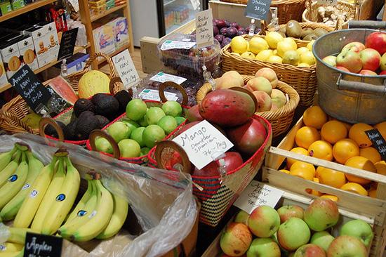 Kärnfrukt och annan frukt