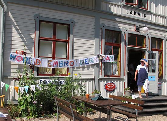 World Embroidery Day in Sweden - Foto: Lillemor Johansson