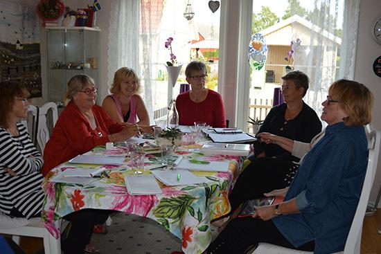 Styrelsemöte i augusti 2014