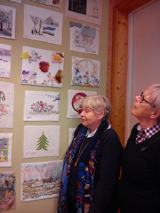 Anna-Britta Andersson och Birgitta Borgefors Karlsson