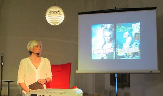 Författaren Anna Laestadius Larsson