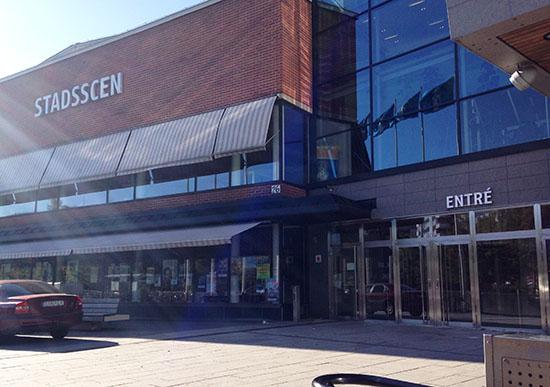 Södertälje Stadshus - entré.