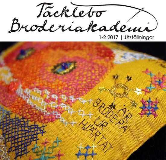 Broderitidning 2017 - Broderiakademins medlemstidning 1-2 2017