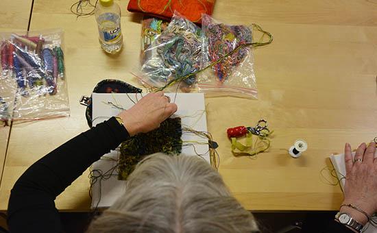 På workshop med Henriette Ousbäck