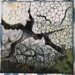 konstverket sprickbildning av Kerstin Hammarson